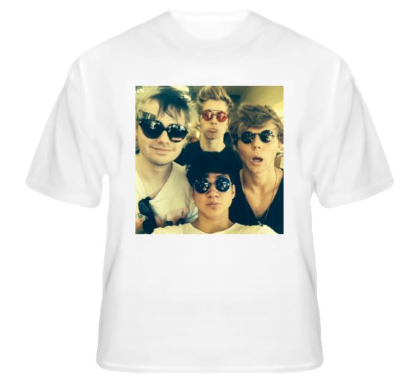 5 Seconds of Summer 5SOS Poster ss12 Shirt – Globtees.com - Your Tees Partner