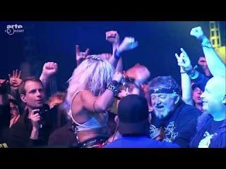 "Pyn Doll: Barb Wire Dolls - ""Revolution"" live at Wacken Open Air 2016   Isis Queen (vocals) Pyn Doll (lead guitar) Krash Doll (drums) Iriel Blaque (bass) Remmington (rhythm guitar)http://ift.tt/1rHKjwH Watch the full concert at: http://ift.tt/2hmz1hW... Filmed edited and directed by Arte Concert. Barb Wire Dolls - ""Revolution"" live at Wacken Open Air 2016 Motörhead Music presents Barb Wire Dolls (Rockumentary) Pyn Doll"