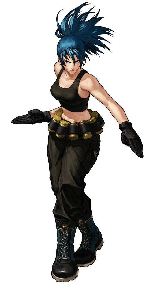 Leona Heiden/ Metal slug defense / KOF