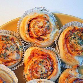 Recept enkla pizzabullar