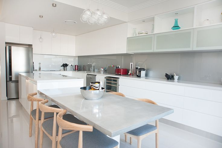 Ermington sleek contemporary kitchen