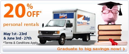 Budget Truck Rental – Reserve Your Moving Truck / Get a Moving Quote