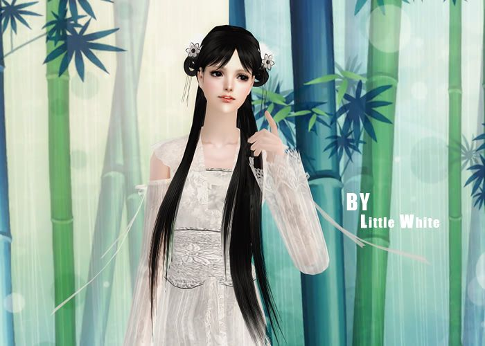 33.8 MB: sims2 chinese hair & 模拟人生2中式发型 - Others - Sims2 Heaven