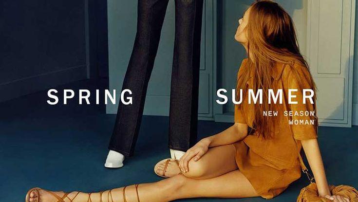 ZARA İlkbahar Yaz 2015 Kadın Koleksiyonu Reklam Kampanyası