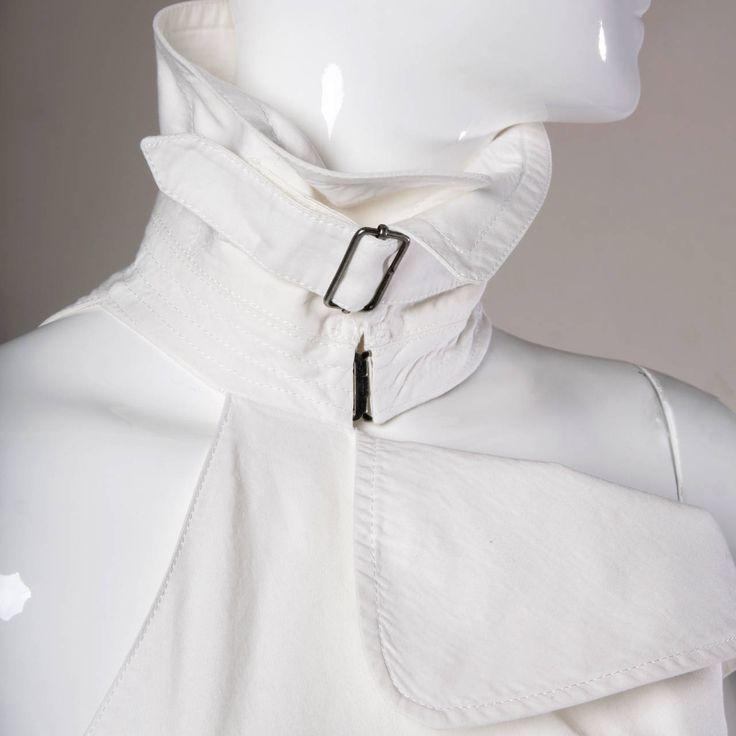 Jean Paul Gaultier Iconic Vintage Straitjacket Belted Bondage Dress image 3                                                                                                                                                                                 More