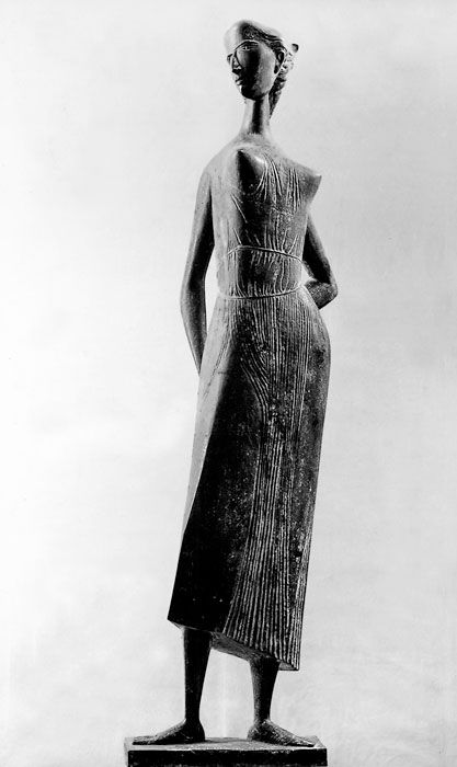 Marcello Mascherini, Ritratto di Franca (1952); Kröller-Müller Museum, Otterlo, The Netherlands