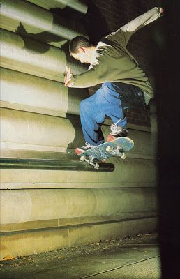 Josh Kalis, what a legend.. what looks like a F/S crook