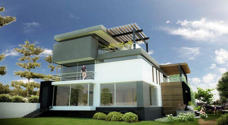 La casa 7 un dise o plastico de tendencia minimalista for Casas de madera minimalistas