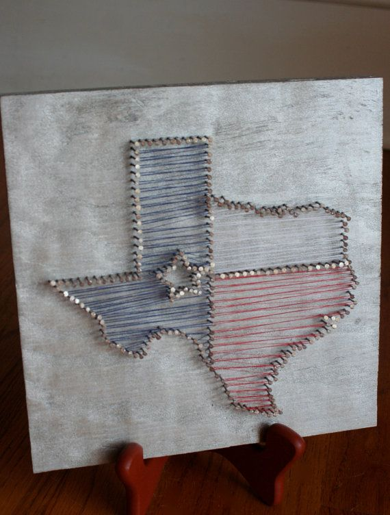 85 best string art images on pinterest string crafts nail nail thread and wood texas art on curiously wroughts etsy page crafty stuff prinsesfo Image collections