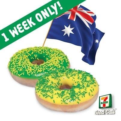 Wow, Australia Day Krispy Kreme Donuts