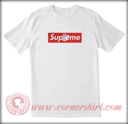 e0cfef368 Supreme X Peppa Pig Custom T shirt | Graphic T shirts | Shirts ...