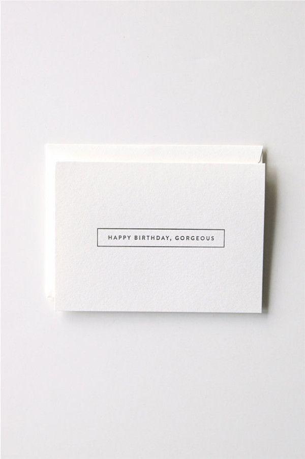 In Haus Press Gorgeous Card  / Parc