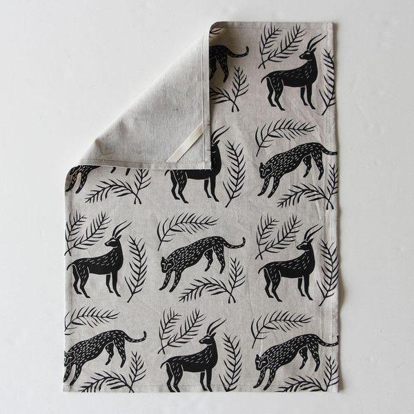 Amelie Mancini Tea Towel - Savanna