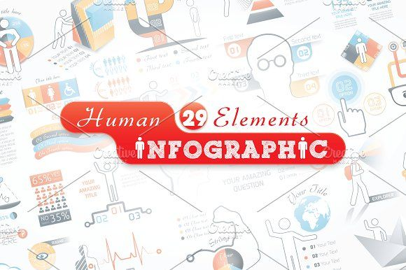 @newkoko2020 Human Infographic Bundle by Infographic Paradise on @creativemarket #infographic #infographics #bundle #download #design #template #set #presentation #vector #buy #graph #discount