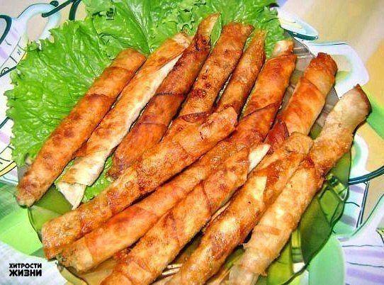 Закусочные рулетики из армянского лаваша | Про рецептики - лучшие кулинарные рецепты для Вас!