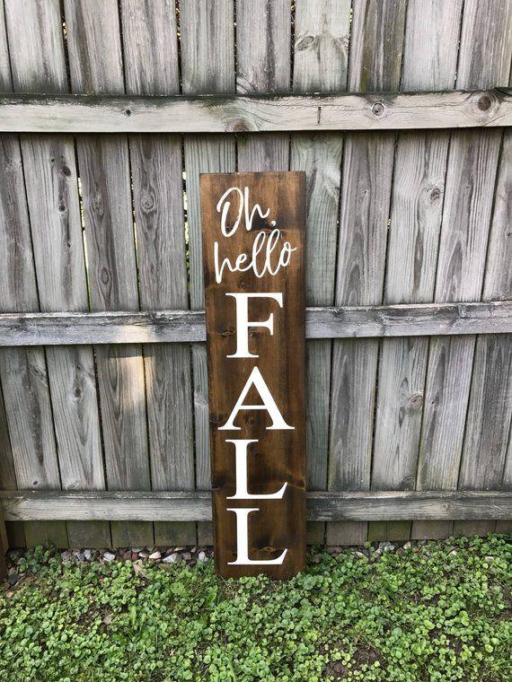 Fall Signs Fall Welcome Signs Welcome Signs Front Porch Outdoor Signs Fall Porch Decor Wood Signs Fall Decorations Porch Fall Wood Signs Fall Outdoor Decor