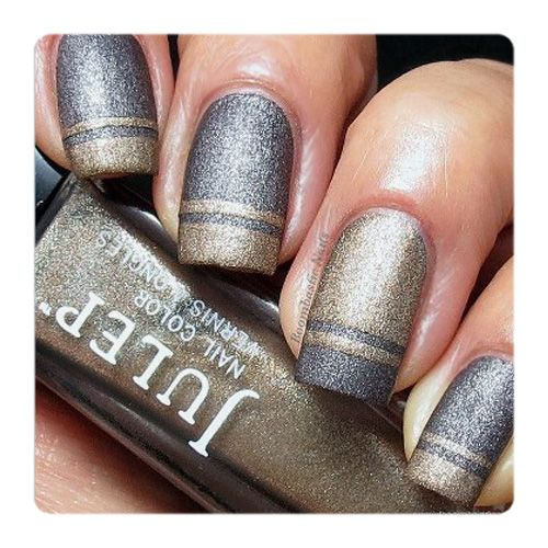 Julep's Fan Nail of the Day by Boombastick Nails