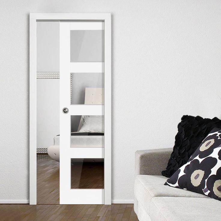 151 best jb kind internal single pocket doors images on for Single sliding patio door
