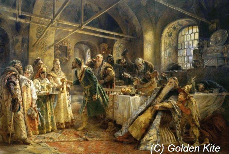 Feast Boyar Morozova