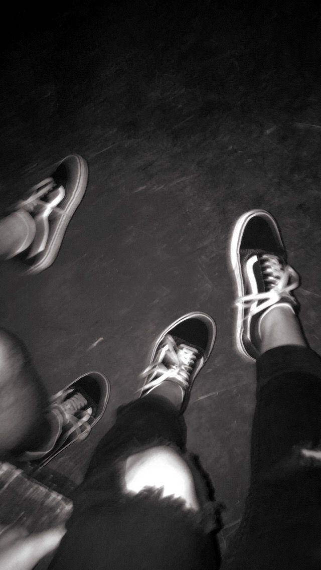 black vans tumblr photography
