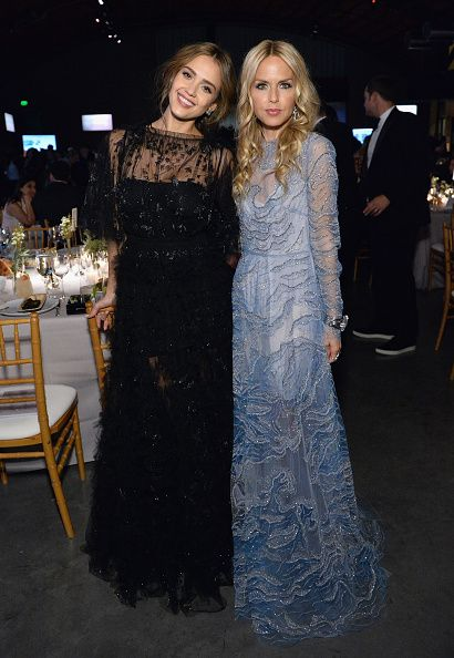Founder The Honest Company Jessica Alba and designer Rachel Zoe attend the Fifth Annual Baby2Baby Gala Presented By John Paul Mitchell Systems at...