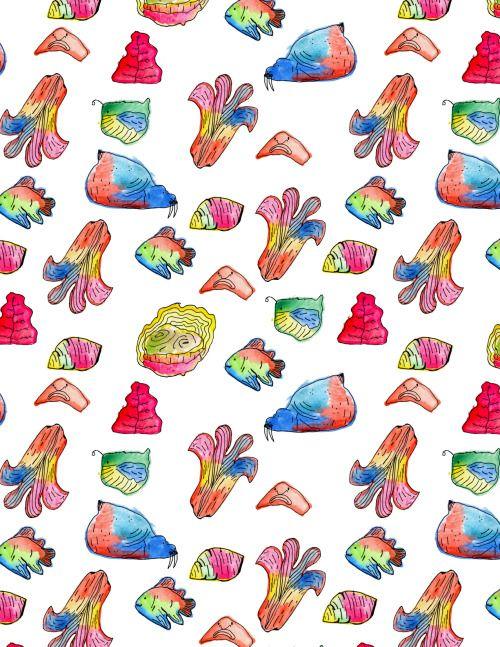 pattern oceánico  //  oceanic pattern