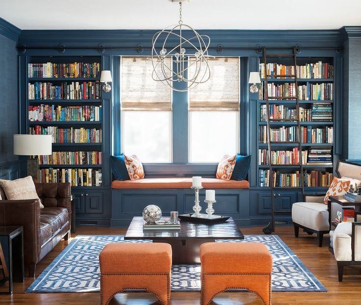 Interiors & Glamour - light and casual Library