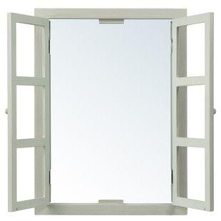 Specchio a finestra verde modello ...