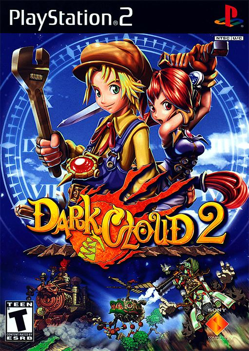 15th Anniversary: Dark Cloud 2 by Level-5  #gaming #games #gamer #videogame #video #game #gamers #Retrogame #retrogamer #retrogames #retrogaming