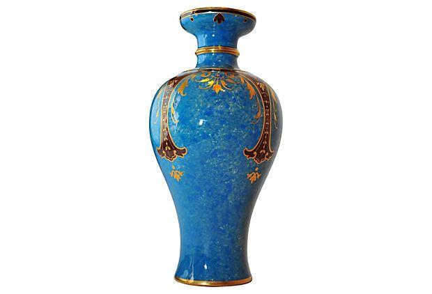 Sèvres China Hand-Painted Vase, C. 1880 on OneKingsLane.com