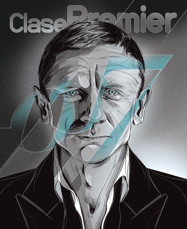 Daniel Craig  Clase Premier Magazine / June 2012