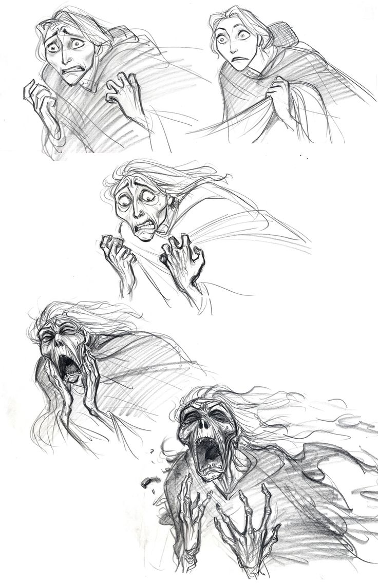 """I started re-posting old drawings from my old blog which is not in use anymore.These are early concept drawings of Mother Gothel in """"Tangled (2010)"""""""