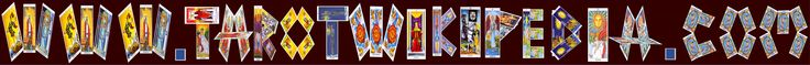 Check out the crazy cool logo I made out of #tarot #cards