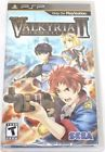 Valkyria Chronicles II (Sony PSP 2010) New and Sealed