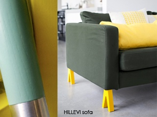 Prettypegs. Awesome way to revamp Ikea furniture.