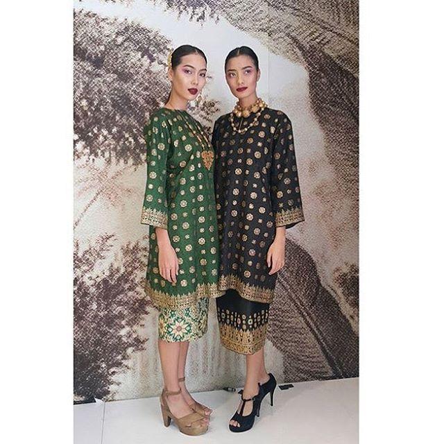 Modern baju kurung #gheafashionstudio #songket #bazaarmagazine