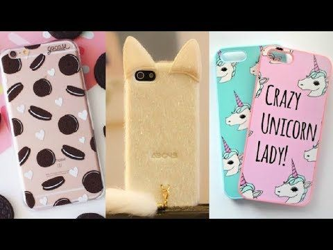 DIY: Como hacer Fundas Caseras para Celulares / DIY Phone Cases 2017 - YouTube