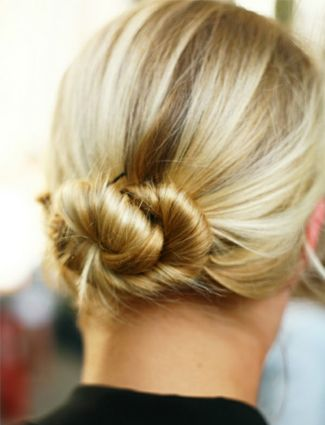 Workout Hairstyles - Seriously?  Workout hairstyles?  WHen I'm going to work out - I most definitely do NOT care about my hair and what it looks like.  LOL.