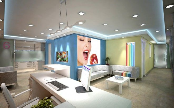 Cl nica dental art chamarel interior design studio - Decoracion de clinicas dentales ...