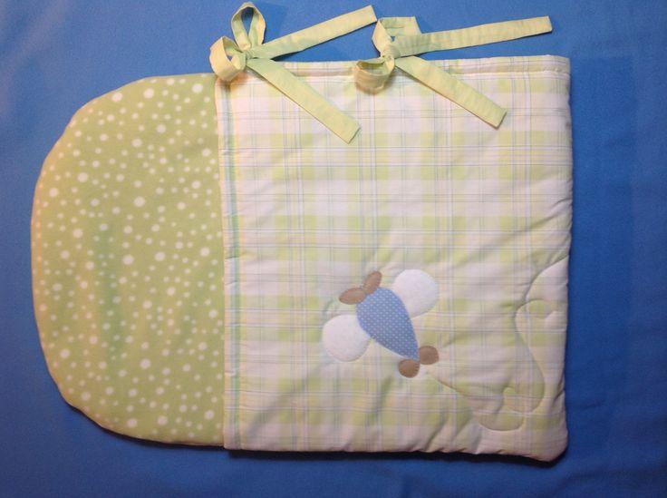 Saco de dormir para beb patchwork pinterest sacos - Sacos para portabebes ...