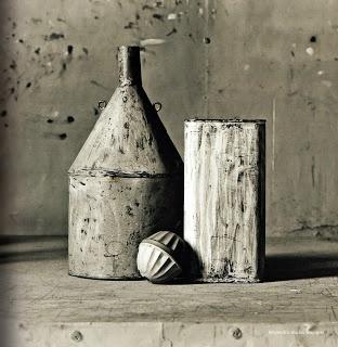 Photo in Morandi's Studio