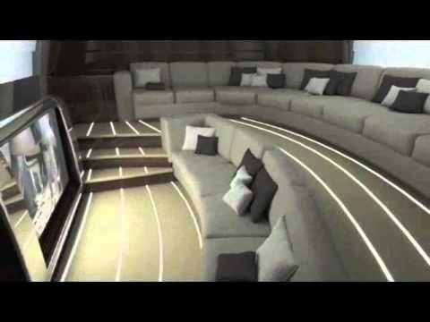 Concepto interior de Jet Aviation para el Boeing 787 Dreamliner