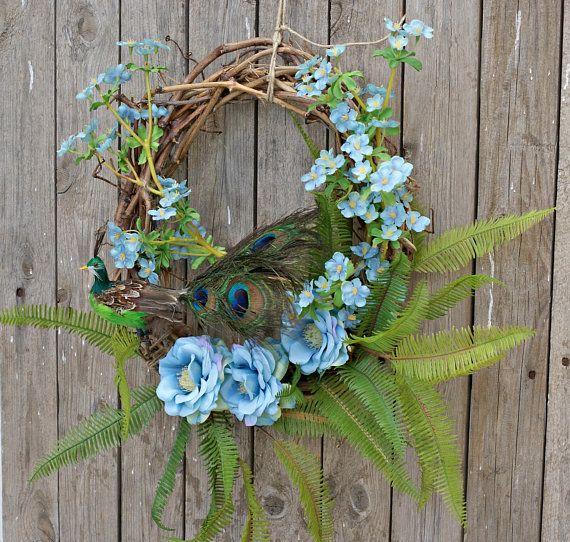 Spring Wreaths Floral Wreaths Front Door Flower Wreaths