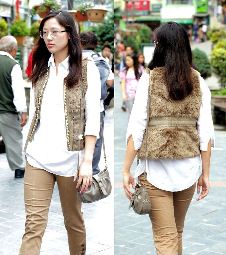 BE FOXY IN A FAUX FUR WAIST-COAT THIS WINTER. #FStreet #FastrackBlog #Fashion