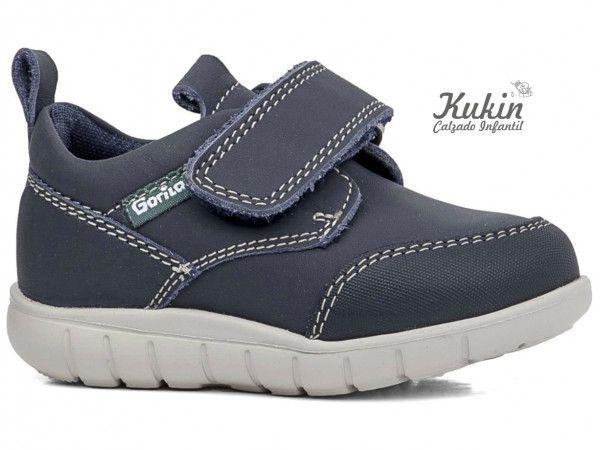 8c5eb40f4c7 zapatos-niño-velcro-gorila - moda niño - zapatos gorila - náuticos niño