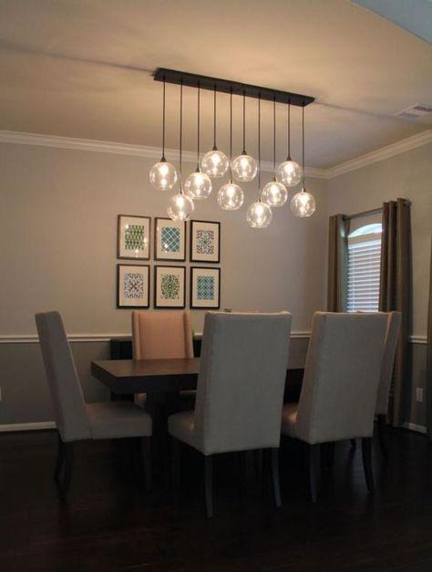 luminaires salle à manger, ensemble luminaires élégants