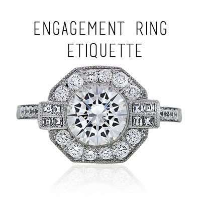 Engagement Ring Etiquette: How to behave like a human when a friend or acquaintance gets engaged
