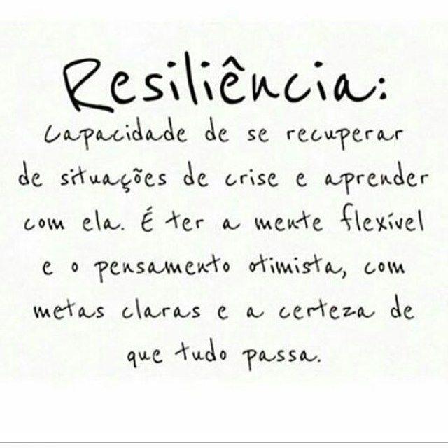 """bynina: """" Que nunca nos falte essa tal """"resiliência"""". #regram @terapia_da_alma que super indico! #frases #resiliência #paciência #força #sabedoria #autoajuda #autoconhecimento #pensamentopositivo #terapiadaalma """""""