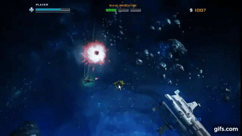 The Best Space Combat Game Black Sun - A free Action Game  via GIPHY