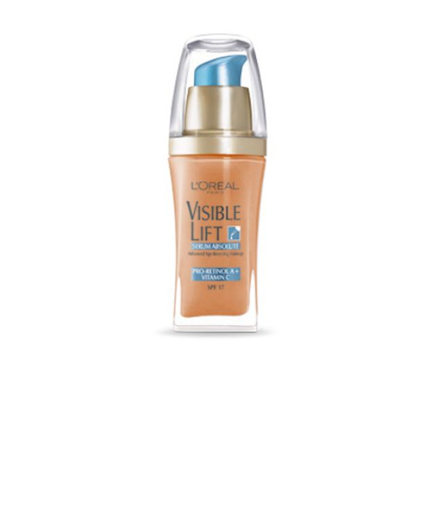 The 12 Best Foundations for Mature Skin: L'Oreal Visible Lift Serum Absolute Advanced Age-Reversing Makeup, $13-$15